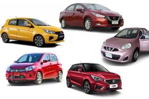 รวม 5 อันดับรถป้ายแดงถูกสุดในไทย ที่ใช้เกียร์ออโต้เท่านั้น อัพเดตราคารถใหม่ล่าสุดปี 2021