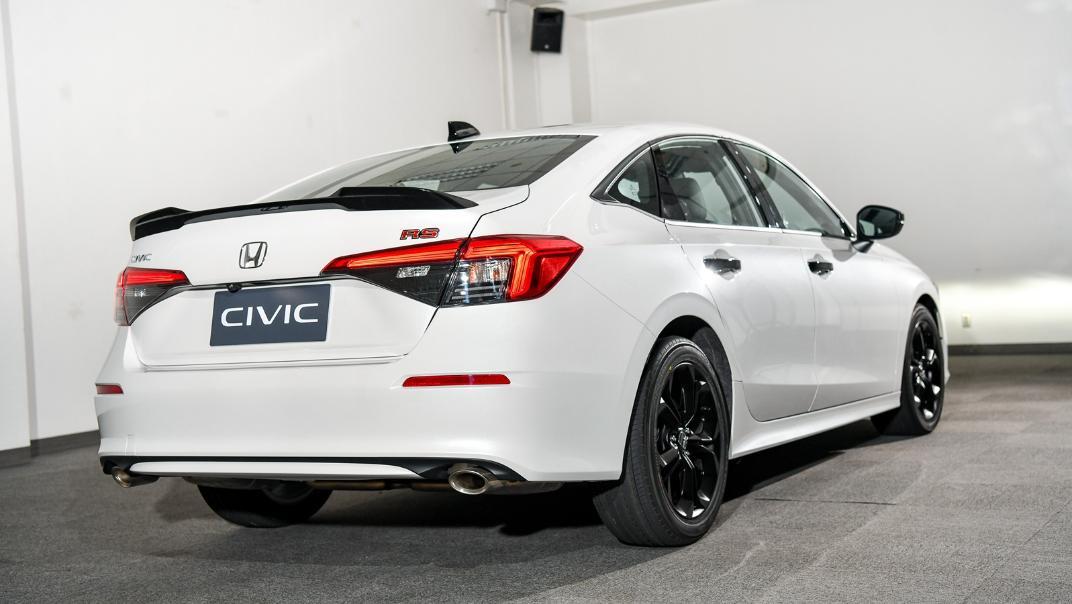 2022 Honda Civic RS Exterior 026