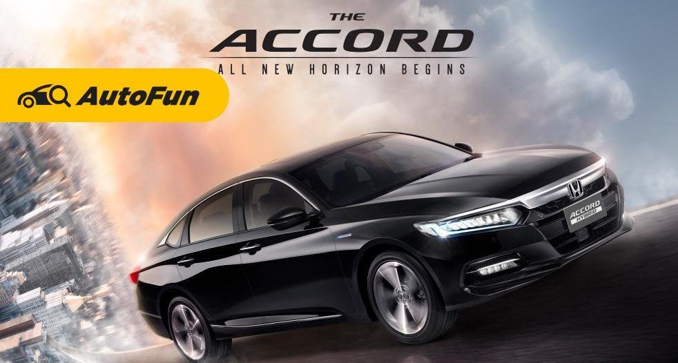 Honda Accord 2021 ราคาเริ่มต้น 1.47 ล้านบาทพร้อมเครื่องยนต์ 1.5 ลิตร รถซีดานสายพรีเมี่ยม 01