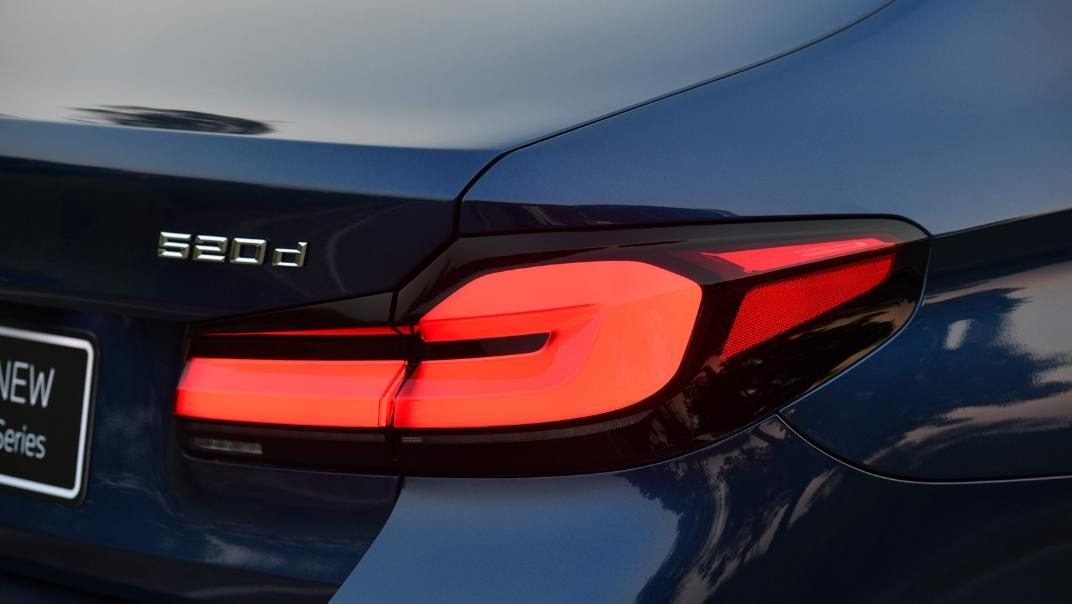 2021 BMW 5 Series Sedan 520d M Sport Exterior 035