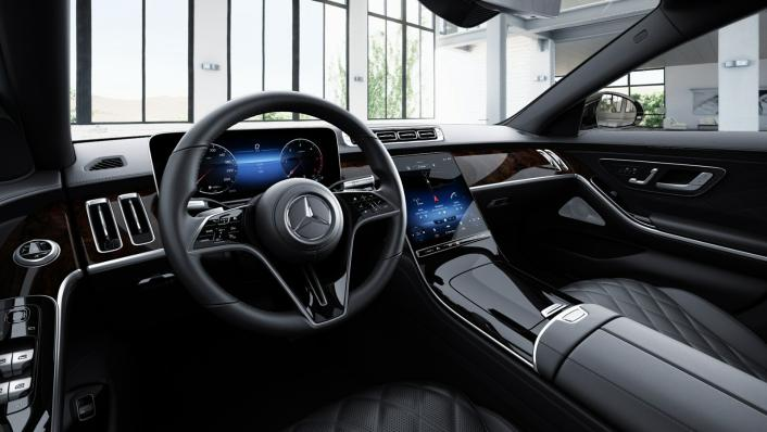 2021 Mercedes-Benz S-Class S 350 d Exclusive Interior 006