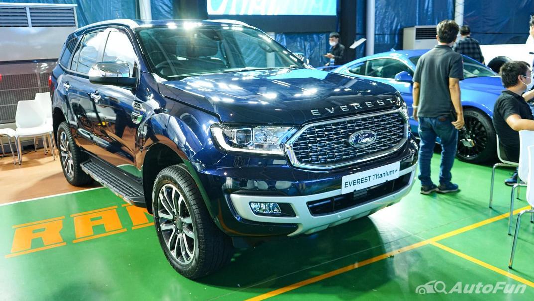 2021 Ford Everest Titanium+ Exterior 007