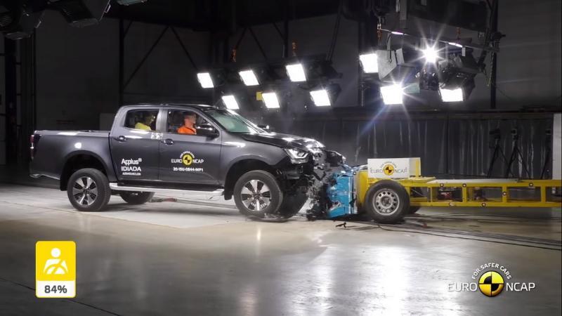 พลานุภาพ แคล้วคลาด 2020 Isuzu D-Max ทดสอบความปลอดภัย Euro NCAP ได้ 5 ดาว 02