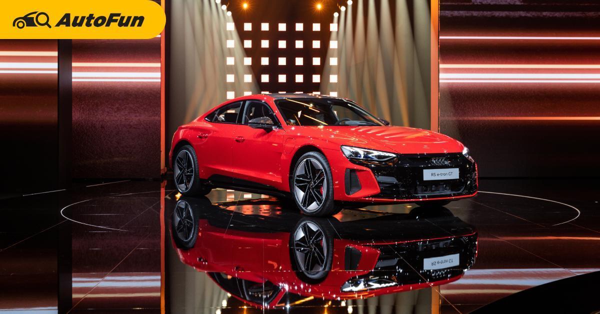 Audi เปิดตัวรถยนต์ไฟฟ้าสปอร์ตรุ่นใหม่ 2022 Audi e-tron GT และ Audi RS e-tron GT เริ่ม 3,621,000 บาท 01