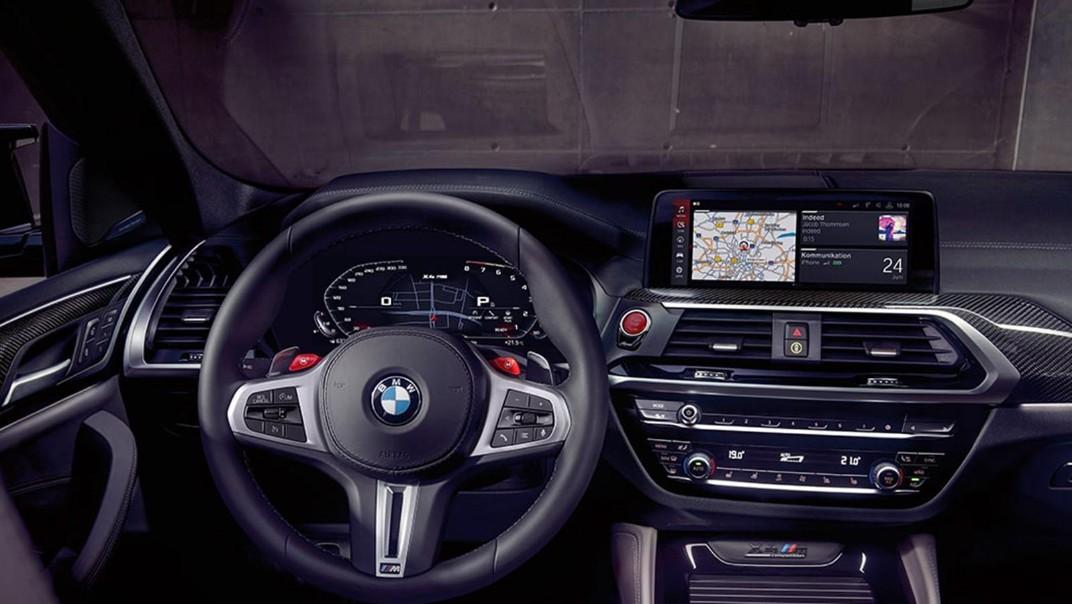 BMW X4-M Public 2020 Interior 004