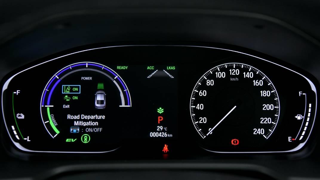 2021 Honda Accord 2.0L e:HEV EL+ Interior 016