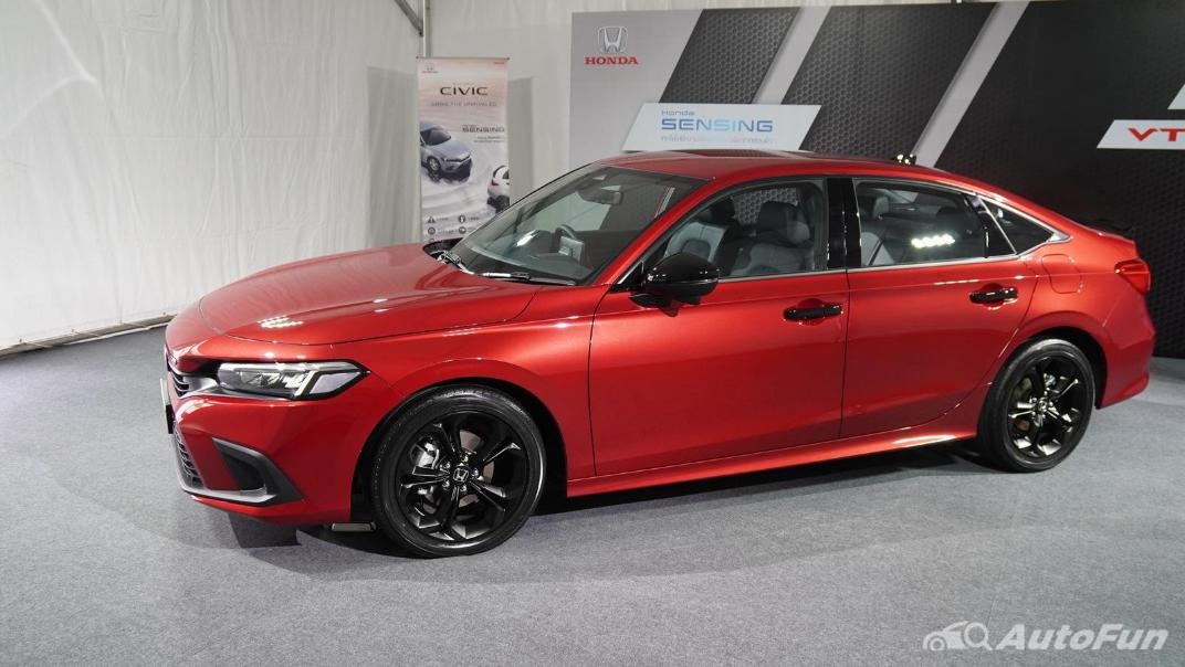 2022 Honda Civic RS Exterior 063