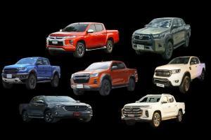 ส่องยอดขายกระบะ 4 ประตูมีนาคม 64 Isuzu D-Max ครองแชมป์ต่อยาวยาว Toyota Hilux ตามมาติด ๆ