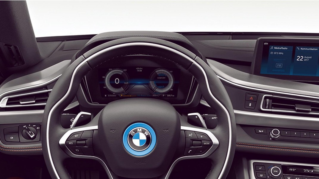 BMW I8-Roadster Public 2020 Interior 002