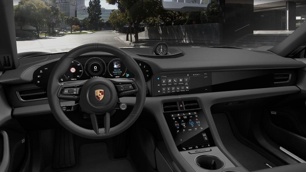 2020 Porsche Taycan Public Interior 001