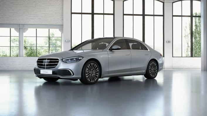 2021 Mercedes-Benz S-Class S 350 d Exclusive Exterior 010