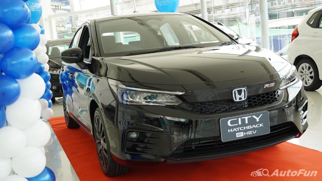 2021 Honda City Hatchback e:HEV RS Exterior 045