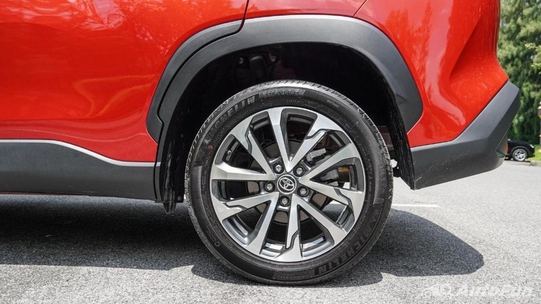 2020 Toyota Corolla Cross 1.8 Hybrid Premium Safety Exterior 042