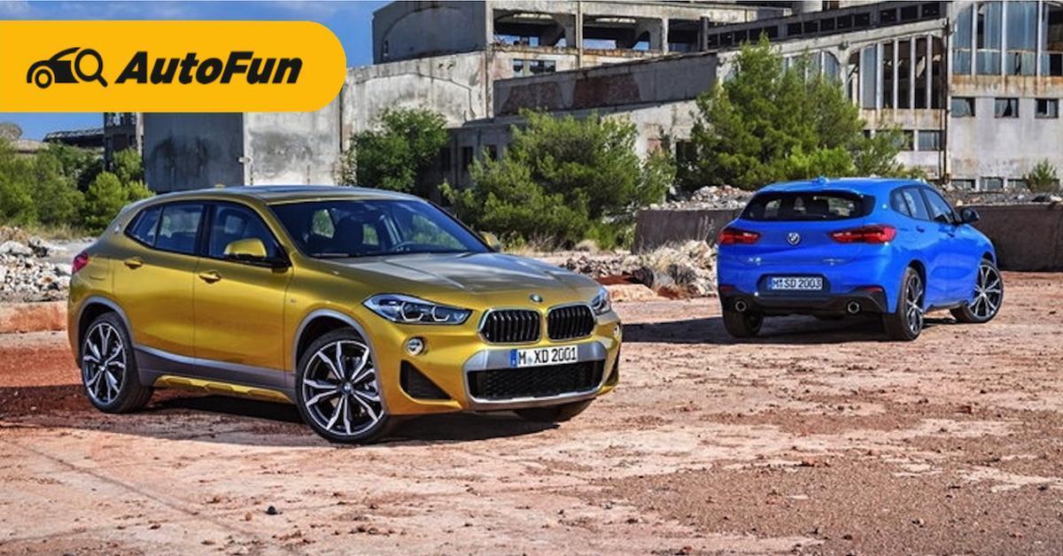 ส่องข้อดีข้อเสียรถอเนกประสงค์หรู BMW X2 ที่หลายคนอยากเป็นเจ้าของ 01
