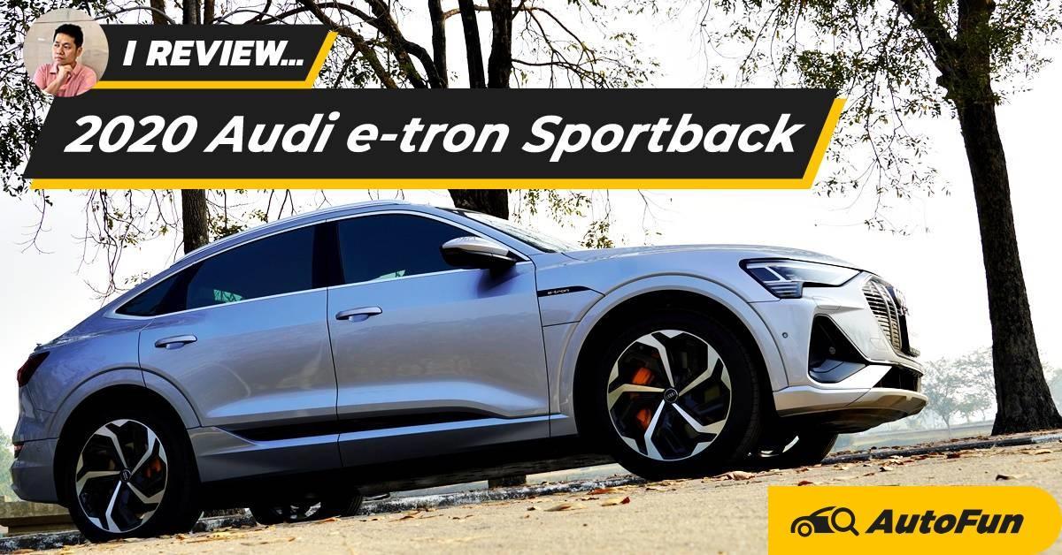 Review 2020 Audi e-tron Sportback รถไฟฟ้าเสียบปลั๊ก 5.299 ล้านบาท ครบทั้งแรงทั้งหรูแบบไร้คู่แข่ง 01