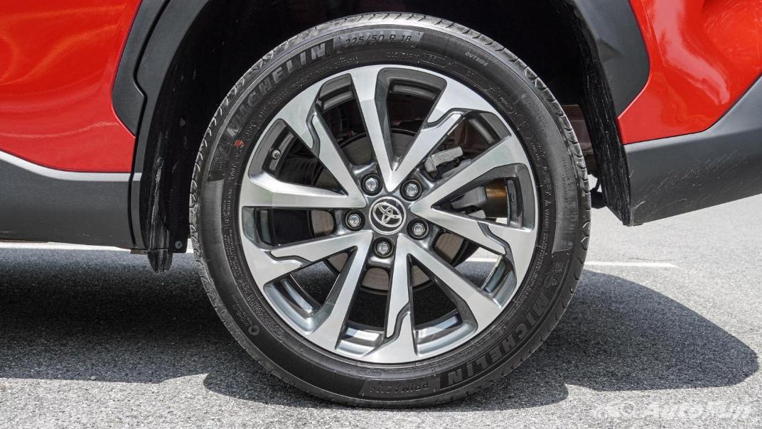 2020 Toyota Corolla Cross 1.8 Hybrid Premium Safety Exterior 043
