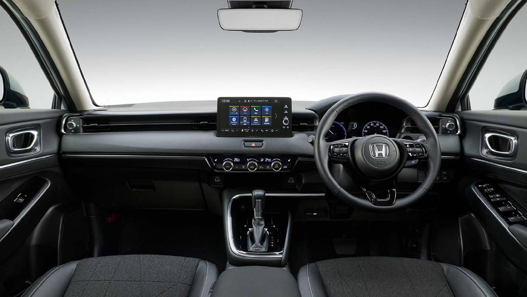 2021 Honda HR-V Upcoming Version Interior 001