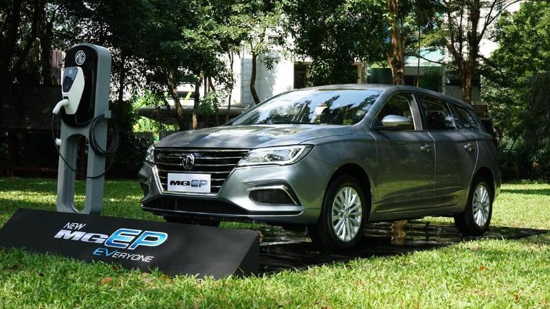 เทียบรถยนต์ไฟฟ้า MG EP หรือว่า ZS EV ได้ส่วนลด 100,000 บาท นำเข้าจีนทั้งคู่ แล้วต่างกันยังไง 02