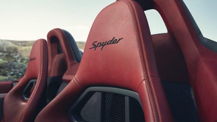 Porsche 718 2020 Interior 008