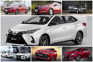 Sub-compact sedan พฤษภาคม 64 Toyota Yaris Ativ ฮึดกลับมาขายดีเบอร์ 1 แต่แพ้ยอดรวม Honda City