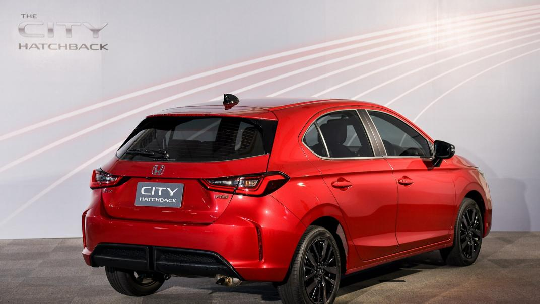2021 Honda City Hatchback 1.0 Turbo RS Exterior 022