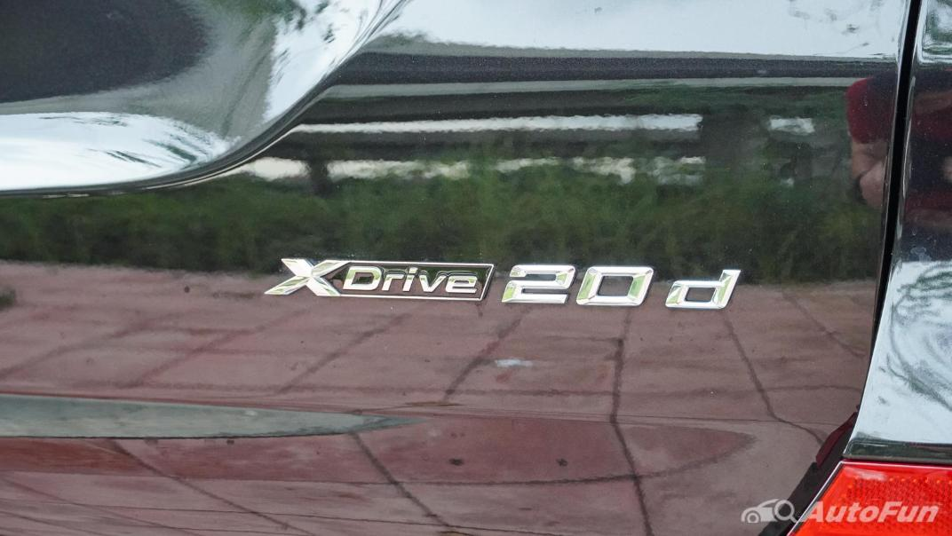 2020 2.0 BMW X3 xDrive20d M Sport Exterior 025