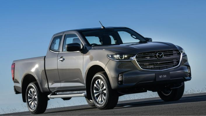 2021 Mazda BT-50 Freestyle cab Upcoming Version Exterior 006