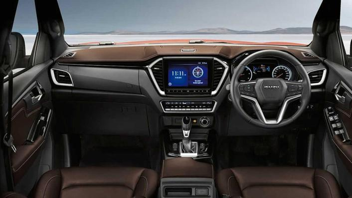 Isuzu D-Max V-Cross 2020 Interior 001