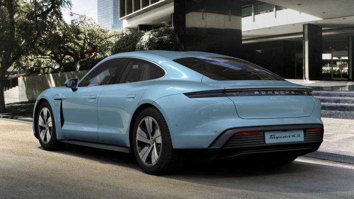 2020 Porsche Taycan Exterior 001
