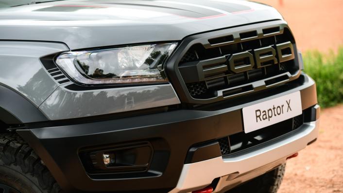 2021 Ford Ranger Raptor X Exterior 009