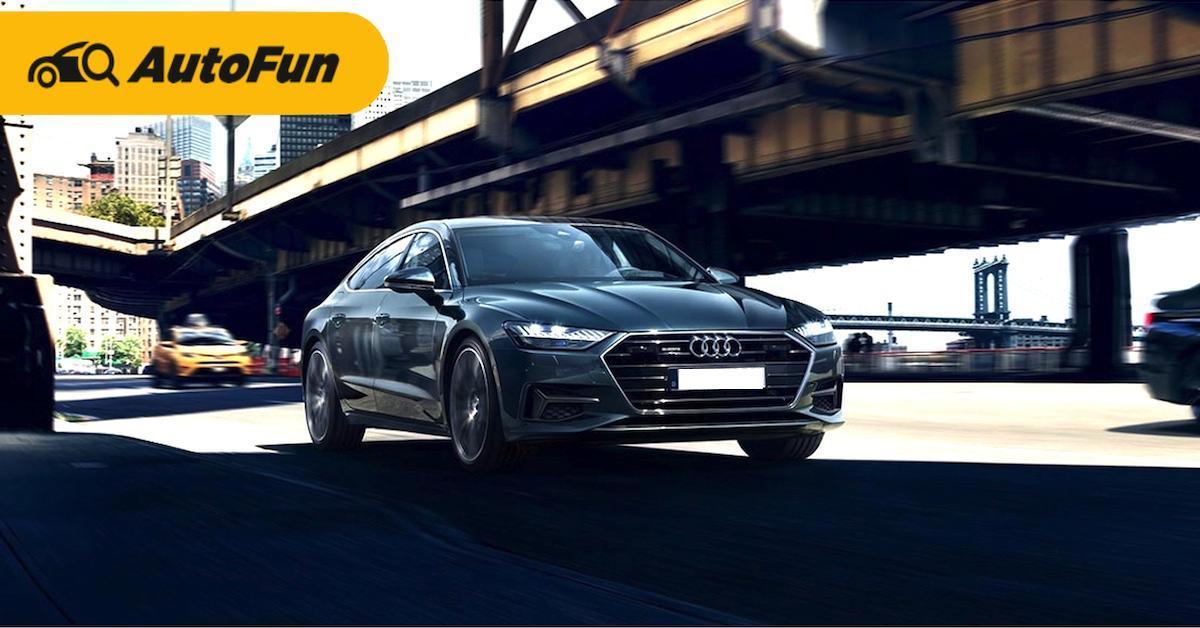 ส่องข้อดีข้อเสีย Audi A7 รถหรูดีไซน์เด่นก่อนเป็นเจ้าของ 01