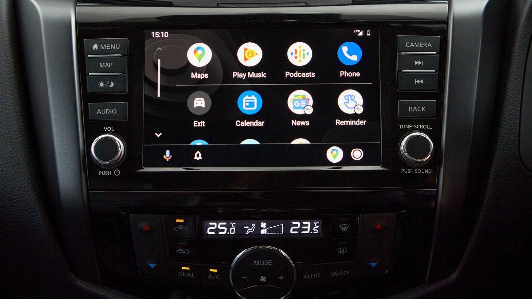 Nissan Navara 2021 Interior 012