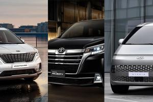 วัดสเปก Hyundai Staria – Kia Carnival – Toyota Majesty เอ็มพีวีหรูสู้ศึกรถอเนกประสงค์