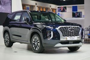 ชมคันจริง Hyundai Palisade เซอร์ไพรสไซส์ยักษ์จากเกาหลี มาโชว์ในไทย แต่ไม่ขาย