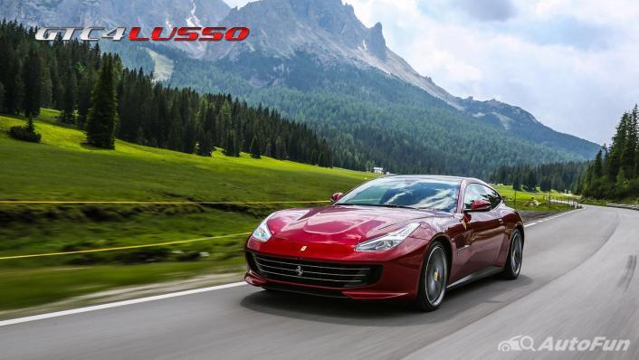 2020 Ferrari GTC4Lusso 6.2 V12 Exterior 009