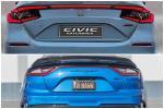 หลุดภาพท้าย 2022 Honda Civic Hatchback เหมือน Kia Stinger ไหมถามใจดู