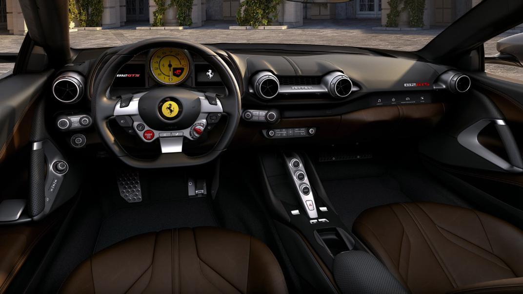 2020 Ferrari 812 GTS 6.5L Interior 003