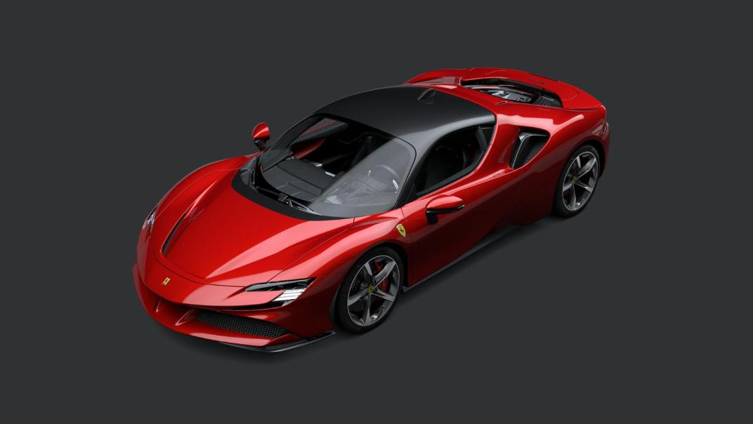 2020 Ferrari SF90 Stradale 4.0 V8 Exterior 001