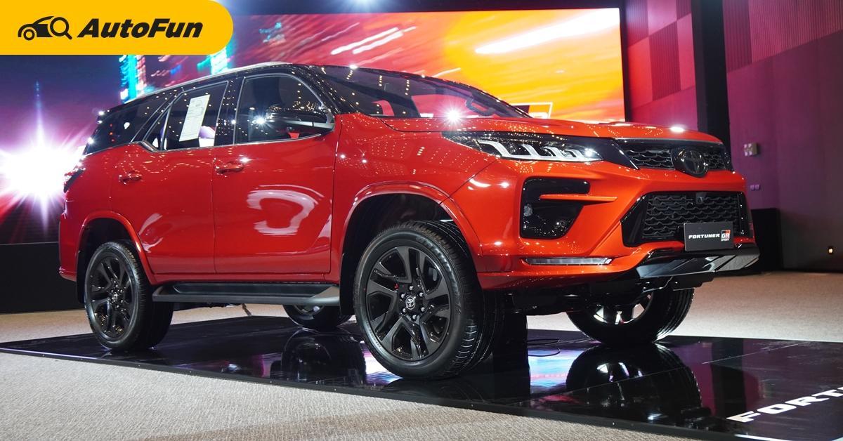 2021 Toyota Fortuner ไมเนอร์เชนจ์ใหม่ได้กล้องรอบคัน พร้อมเปิดตัว GR Sport ราคา 1.879 ล้าน 01
