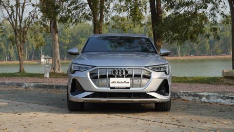 2021 Audi E Tron Sportback 55 quattro S line ราคารถ, รีวิว, สเปค, รูปภาพรถในประเทศไทย   AutoFun