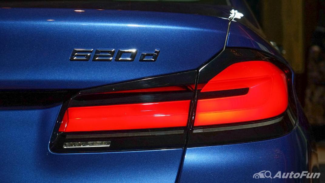 2021 BMW 5 Series Sedan 520d M Sport Exterior 011