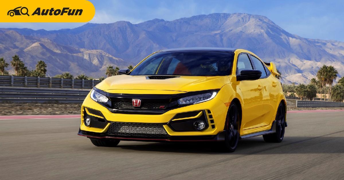 ขายดีก็ขึ้นราคา 2021 Honda Civic Type R เพิ่มหมื่นกว่าบาท แต่ออพชั่นเหมือนเดิม 01