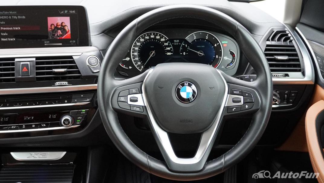 2020 2.0 BMW X3 xDrive20d M Sport Interior 003