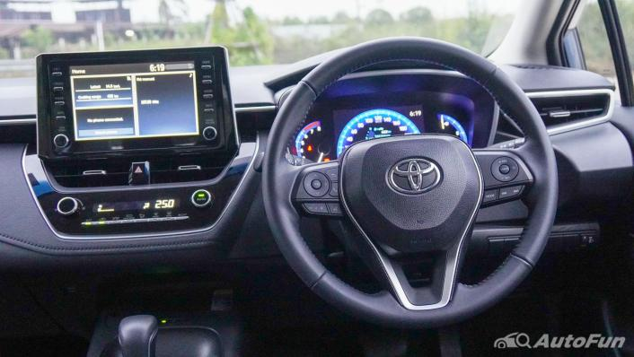 2021 Toyota Corolla Altis 1.8 Sport Interior 002