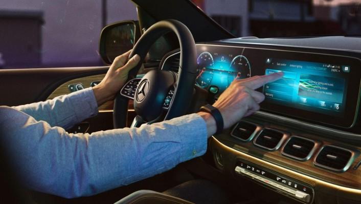 Mercedes-Benz GLE-Class 2020 Interior 003