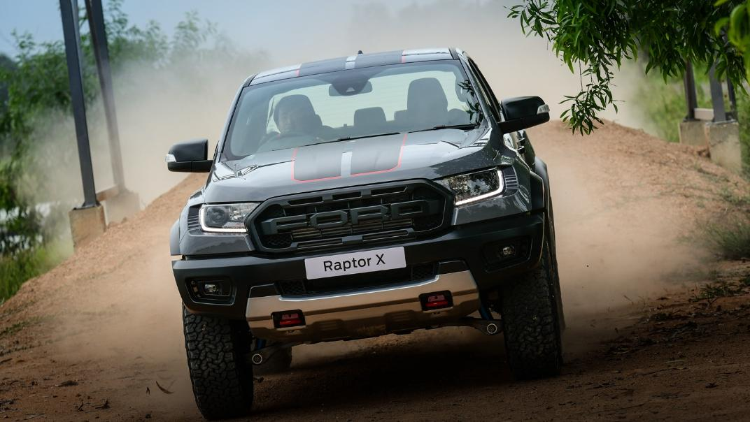 2021 Ford Ranger Raptor X Exterior 005