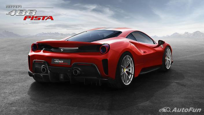 2020 Ferrari 488 Pista 3.9 V8 Exterior 005