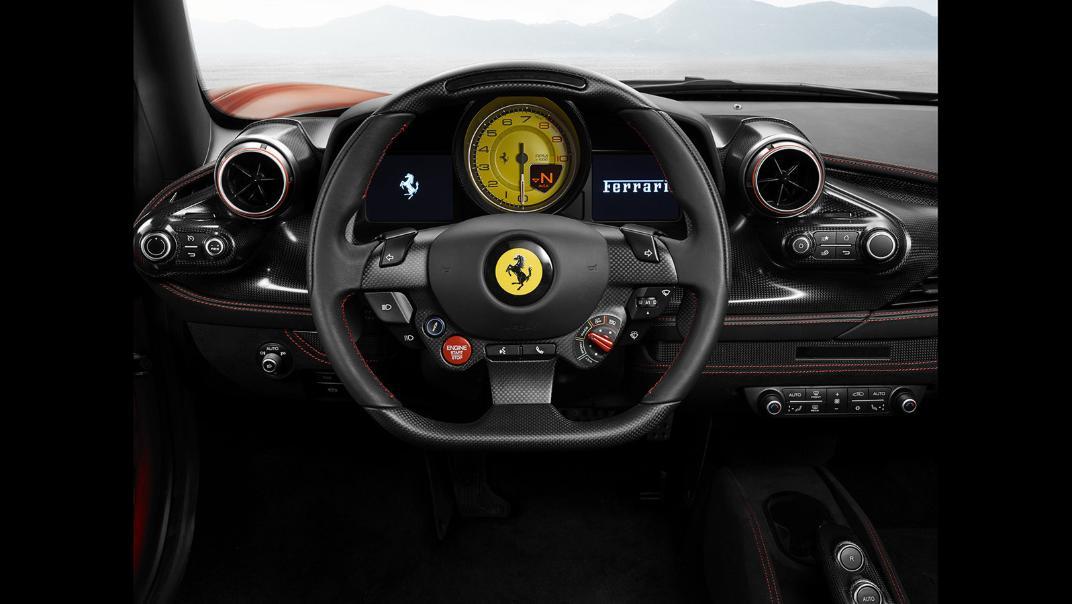 2020 Ferrari F8 Tributo 3.9 V8 Interior 001