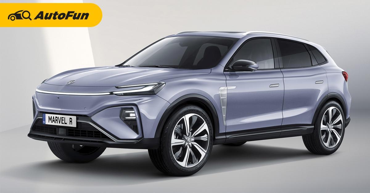 แบบนี้ถล่มตลาด 2021 MG Marvel R รถเอสยูวีไฟฟ้ารุ่นใหม่ ขับขี่ได้ไกล ภายในสวยล้ำ 01