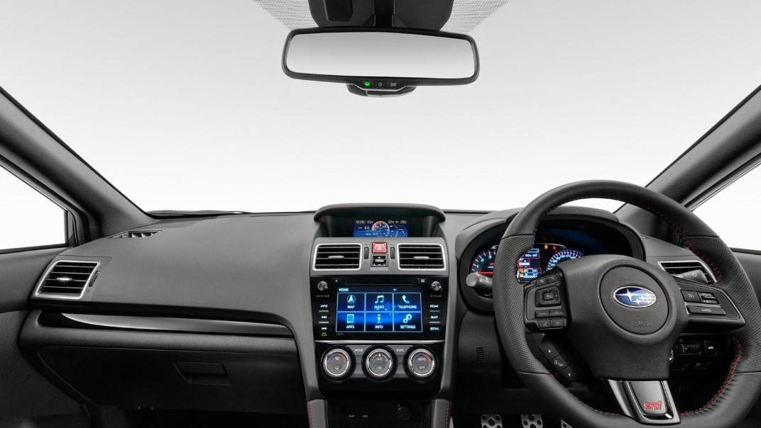 Subaru WRX-STI 2020 Interior 002